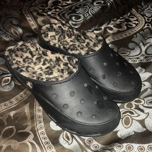 Cheetah & Black Crocs 7 OFFERS ACCEPTED